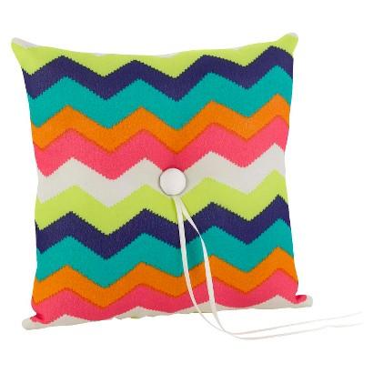 Chevron Stripe Square Pillow