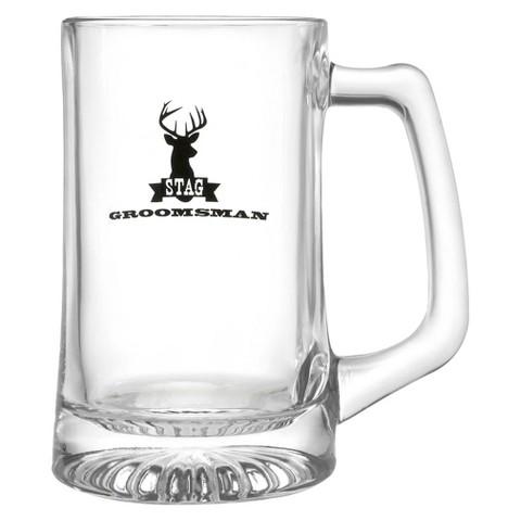 Stag Groomsman Beer Mug