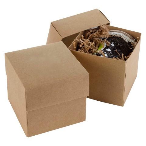 Kraft Cup Cake Boxes