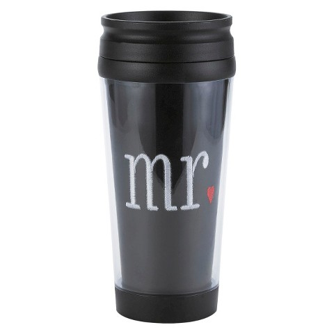 """Mr"" Coffee Tumbler - Black"
