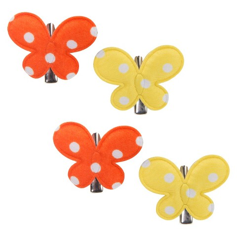 Remington Butterfly Hair Clips - 4 Count