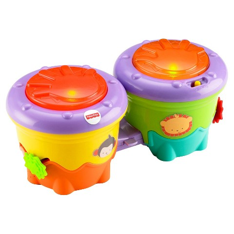 Fisher-Price®  Snugamonkey and Friends Crawl Along Drum Roll