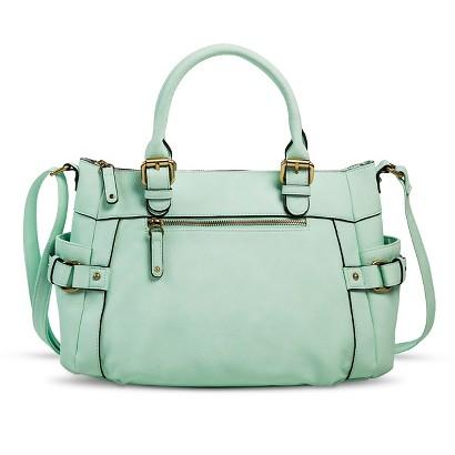 Merona® Timeless Collection Crossbody Satchel Handbag
