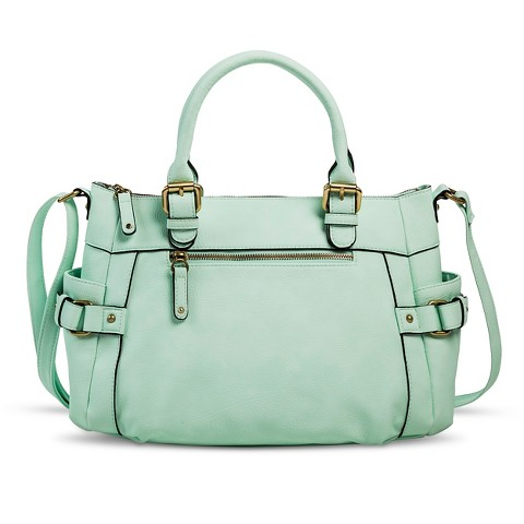 Women's Merona® Timeless Collection Crossbody Satchel Handbag