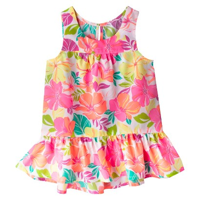 Cherokee® Infant Toddler Girls' Drop Waist Tank Top
