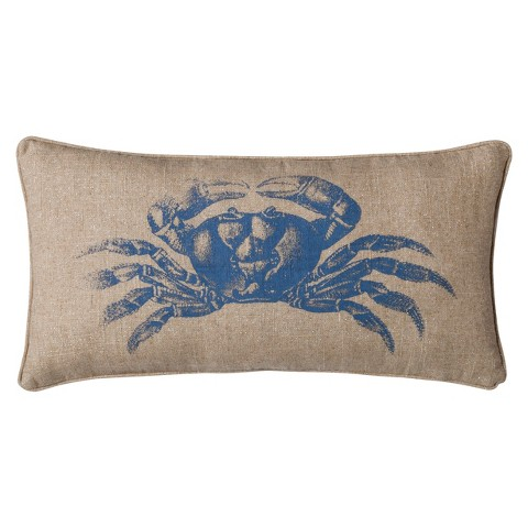 homthreads™ Coastal Crab Decorative Pillow