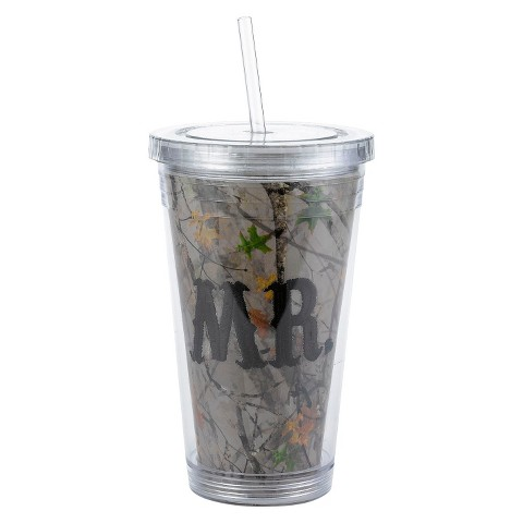 """""""Mr"""" Camouflage Water Tumbler"""