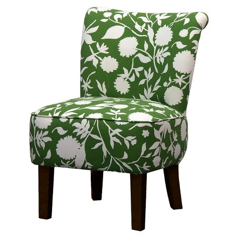 Threshold™ Rounded Back Chair - Green Floral
