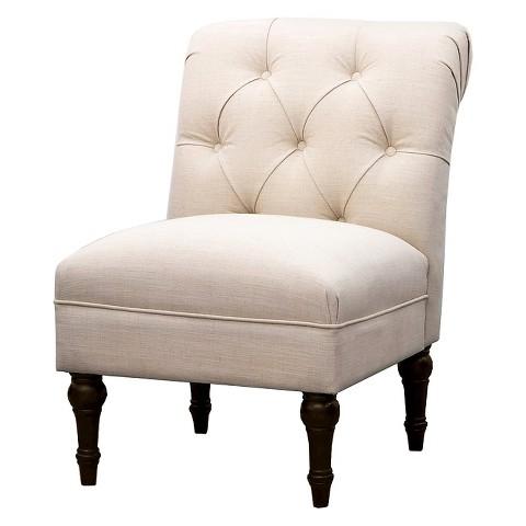 Tufted Back Slipper Chair Threshold™ Tar