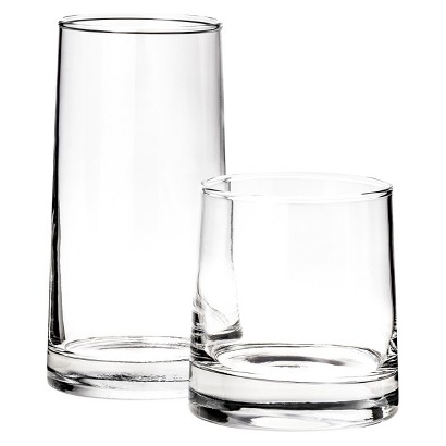 Room Essentials™ Aspen Tumbler Set of 12 - Clear