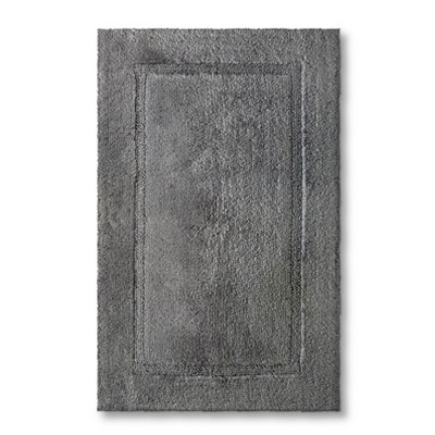 Threshold™ Botanic Fiber Bath Rug - Cloak Gray (20x32)
