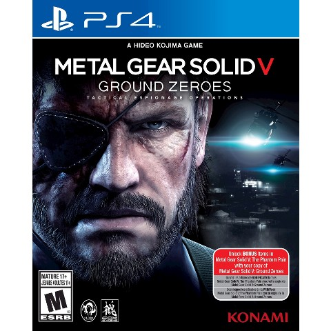 Metal Gear Solid V - Ground Zeroes (PlayStation 4)