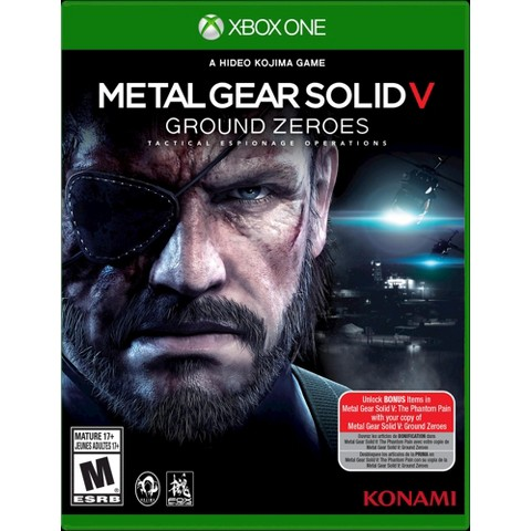 Metal Gear Solid V - Ground Zeroes (Xbox One)