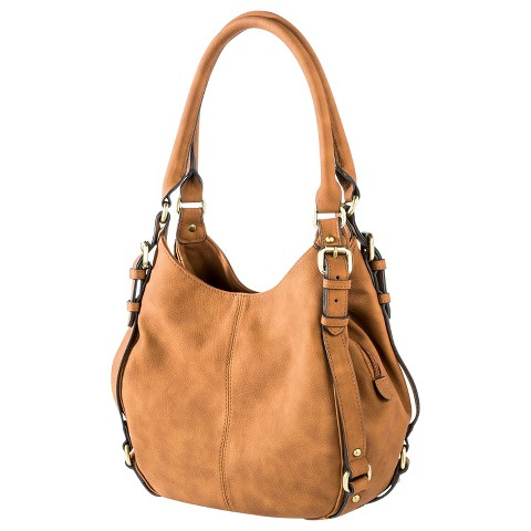 Women's Timeless Collection Small Hobo Faux Leather Handbag - Merona™
