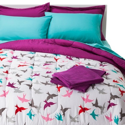 Birds Bedding and Towel Set