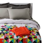 Geo Bedding and Towel Set