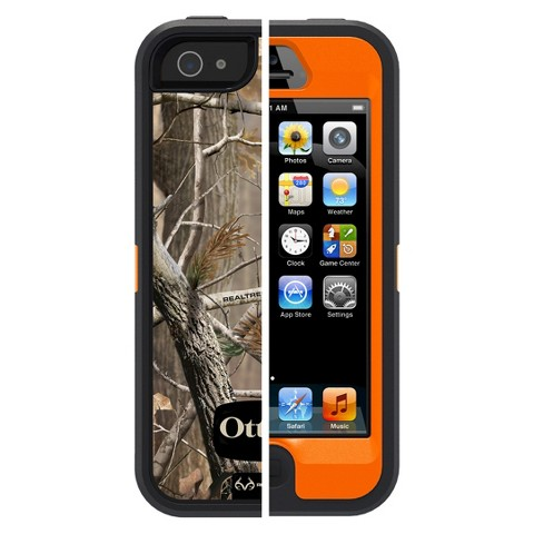 Otterbox Camouflage Cell Phone Case for iPhone 5/5s - Orange (77-33388P1)