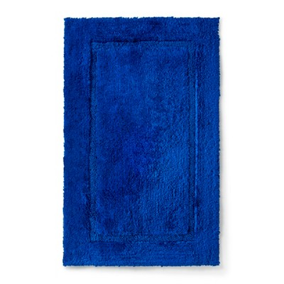 Threshold™ Botanic Fiber Bath Rug - Blue Dolphin (20x32)