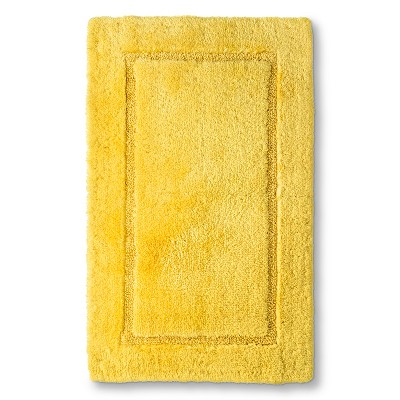 Threshold™ Botanic Fiber Bath Rug - Beehive Yellow (20x32)