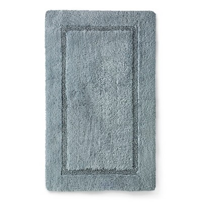 Threshold™ Botanic Fiber Bath Rug - Silver Foil (20x32)