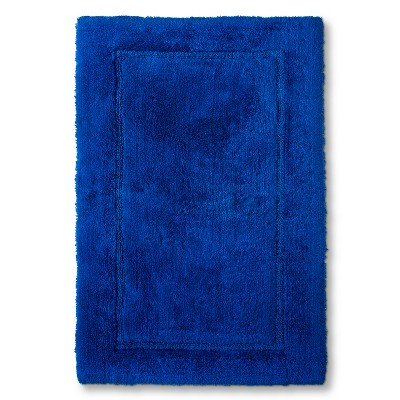 Threshold™ Botanic Fiber Bath Rug - Blue Dolphin (23x37)