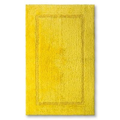 Threshold™ Botanic Fiber Bath Rug - Beehive Yellow (23x37)