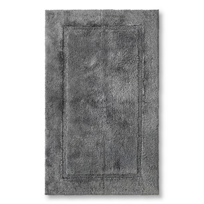 Threshold™ Botanic Fiber Bath Rug - Cloak Gray (23x37)