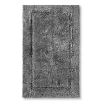 Threshold™ Botanic Fiber Bath Rug - Cloak Gray (23x37)