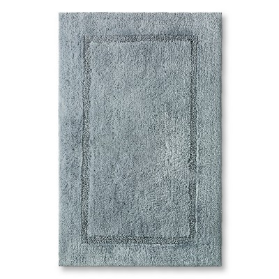 Threshold™ Botanic Fiber Bath Rug - Silver Foil (23x37)