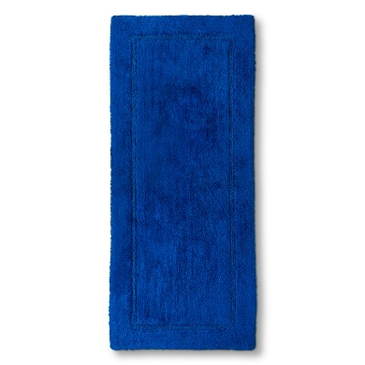 Threshold™ Botanic Fiber Bath Rug - Blue Dolphin (24x54)