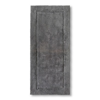Threshold™ Botanic Fiber Bath Rug - Cloak Gray (24x54)