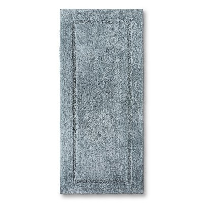 Threshold™ Botanic Fiber Bath Rug - Silver Foil (24x54)