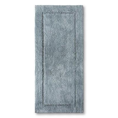 Threshold™ Botanic Fiber Bath Rug - Silver Foil (24x54)