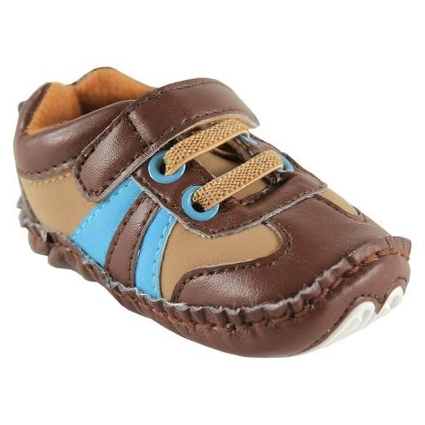 Luvable Friends™ Infant Boys' Sneaker - Brown
