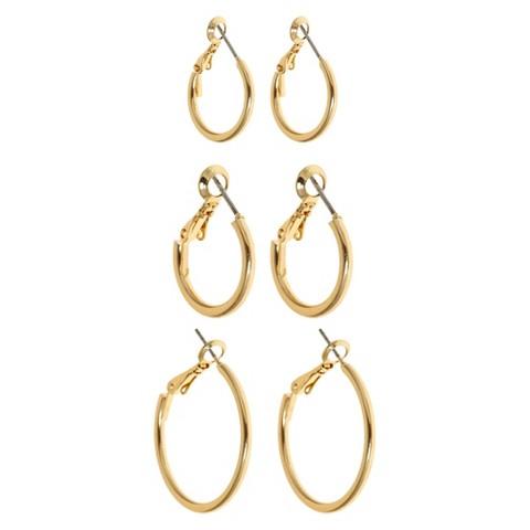Women's Dangle Earrings - Gold