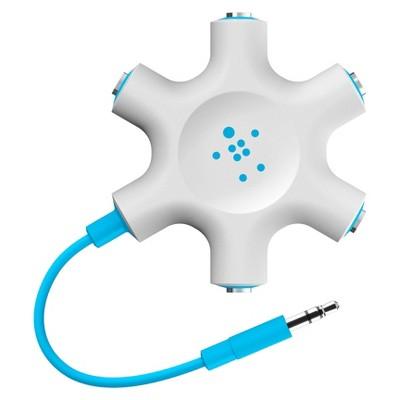 Belkin Mixit Rockstar Cable - White/Blue (F8Z274btBLU)