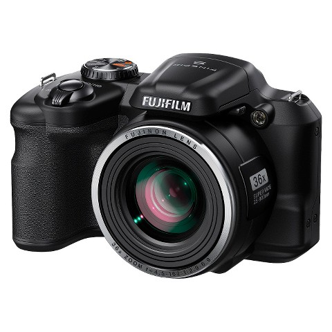 Fujifilm FinePix S8650 16MP Digital Camera with 36X Optical Zoom - Black