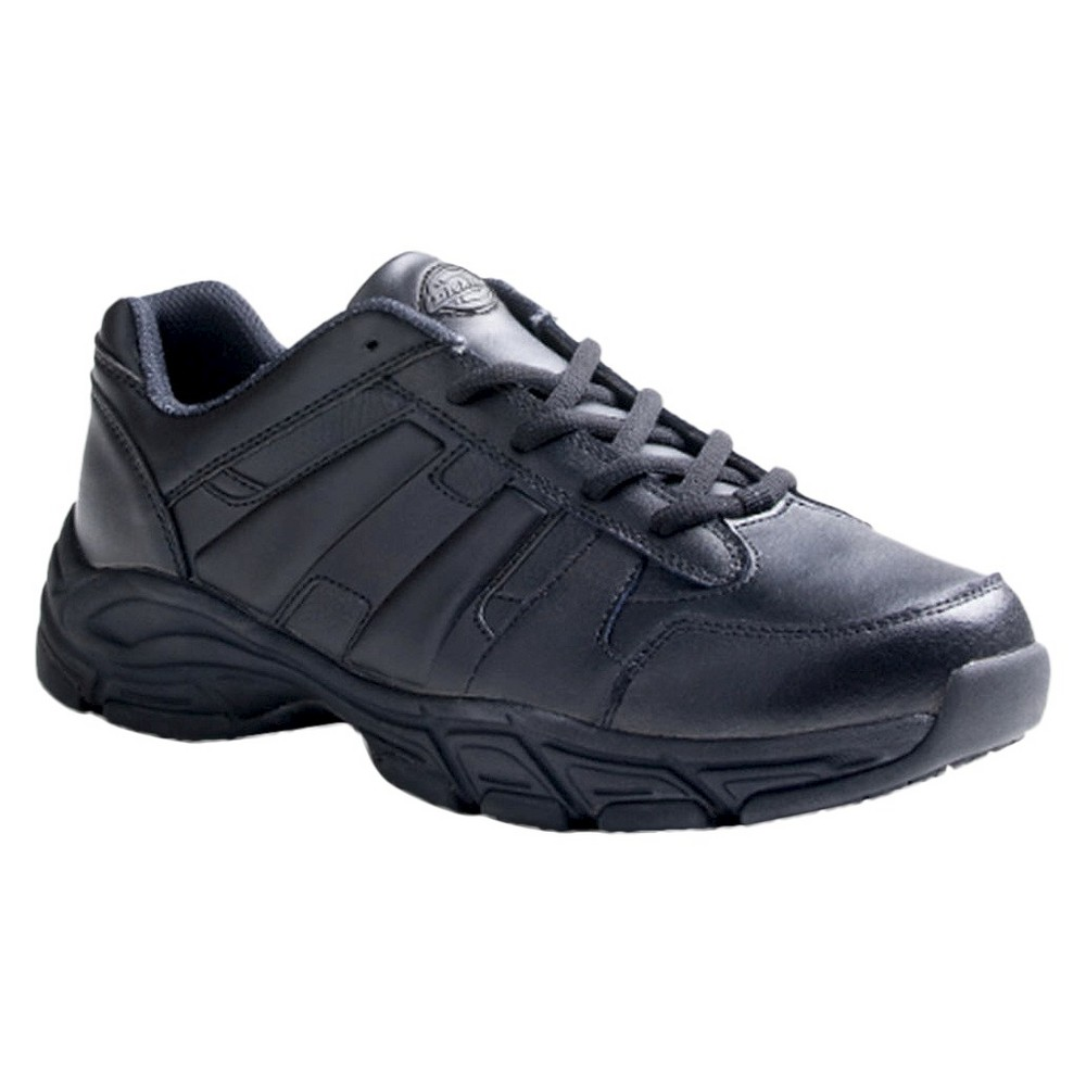 dickies s athletic lace leather slip resistant