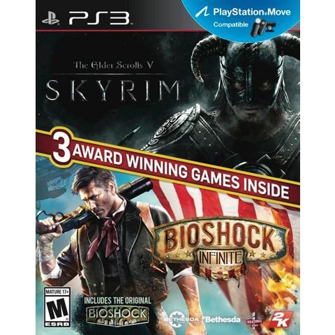 The Elder Scrolls V Skyrim and Bioshock Infinite (PlayStation 3)