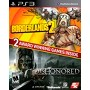 Borderlands 2 and Dishonored (PlayStation 3) quick info