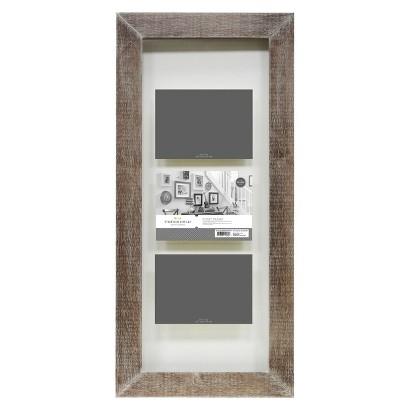 Threshold™ Flat Gallery 3-Opening Float Frame