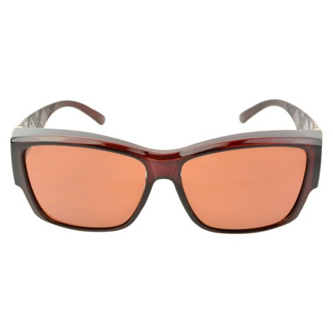 Rectangle Sunglasses - Red