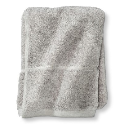 Threshold™ Botanic Fiber Bath Towel - Silver Foil