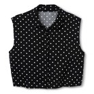 Junior's Cropped Button Down Top