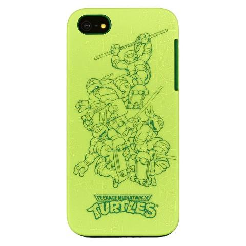 Teenage Mutant Ninja Turtle Cell Phone Case for iPhone 5/5s - Multicolored (TMNTIP5)