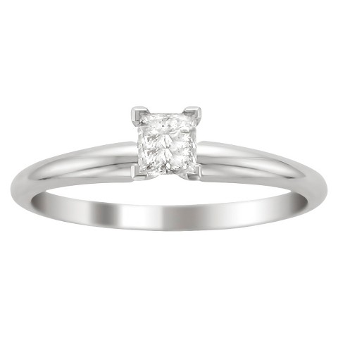 3/4 CT.T.W. Diamond Solitaire Ring in 14K White Gold - In Assorted Sizes