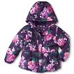 Infant Toddler Girls' Midweight Floral Fashion Puffer Jacket
