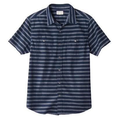 Converse® One Star® Men's Button Down - Dark Shadow Stripe