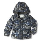 Infant Toddler Boys' Heavyweight Camouflage Puffer Jacket