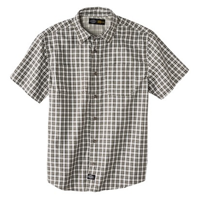 Dickies® Men's Performance Plaid Button Down
